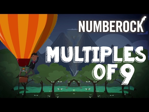 9 Times Table Song Rap | Multiples of Nine by NUMBEROCK
