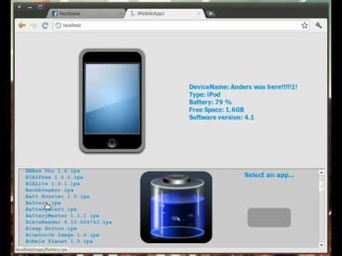 iMobileApps: Sync iPhone applications from Linux