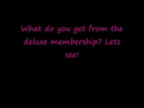 Webkinz Deluxe Membership!