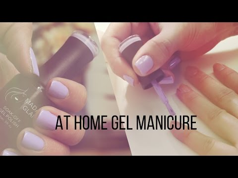 At Home Gel Manicure in 10 Minutes