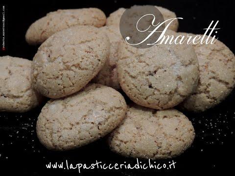 Amaretti - Amaretti cookies recipe