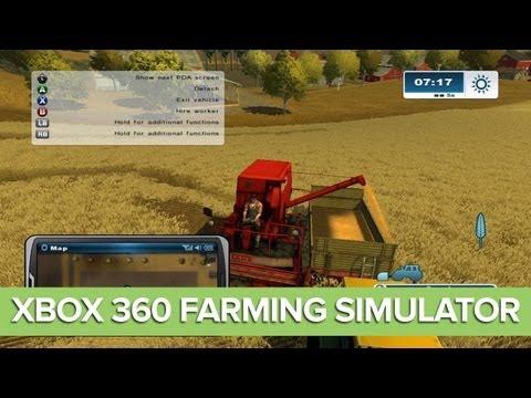 Farming Simulator Xbox 360 Gameplay: Let's Play Farming Simulator Xbox 360 Ep. 1