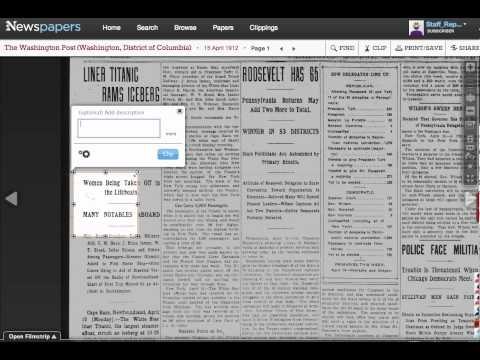 Newspapers.com Introduction
