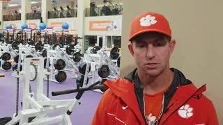 TigerNet.com: Dabo Swinney post-practice November 15