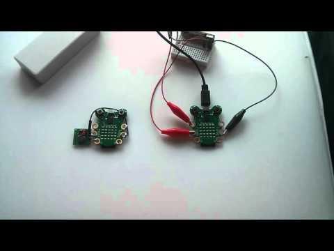Codebug Morse Code 433MHz transmitter & receiver