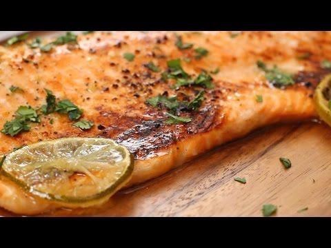 Honey Cilantro Lime Salmon