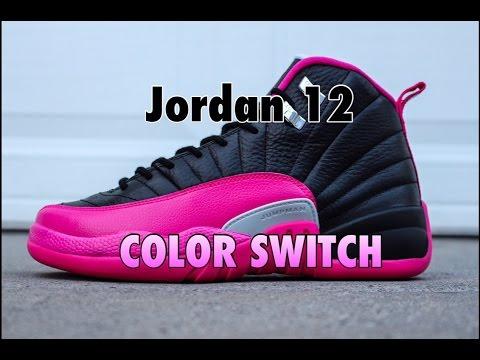Custom Jordan 12