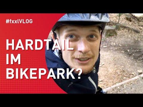 Kann man mit einem Hardtail einen Bikepark fahren?