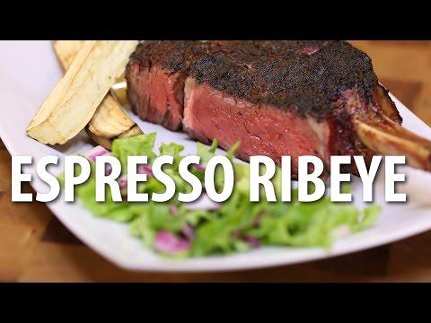 Espresso Crusted Ribeye Steak - Big Meat Sunday