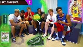 IF You Miss A Green Release You Eat A Green Hot Pepper | 2HYPE Wings Shooting Challenge! NBA 2K19
