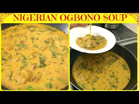 How to Make Nigerian Ogbono Soup | Ogbono Soup | How to Cook Ogbono Soup | Apon | Yummieliciouz Food