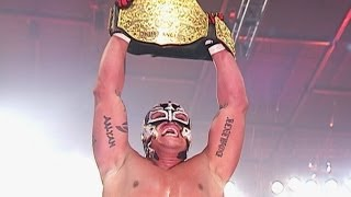Rey Mysterio wins World Heavyweight Championship - WrestleMania 22