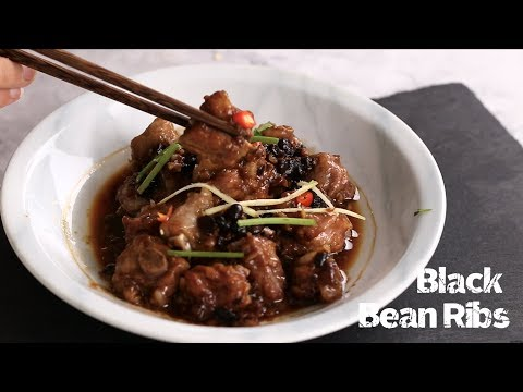 Steamed ribs with fermented black beans (豉汁排骨)