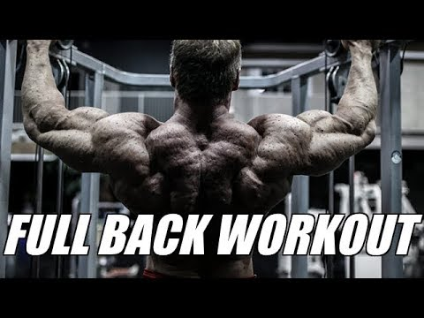Get thick strong lats with this amazing back workout