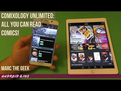 Comixology Unlimited: All You Can Read Comics!