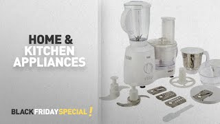 Home & Kitchen Appliances: Inalsa Fiesta 650-Watt Food Processor (White/Grey)