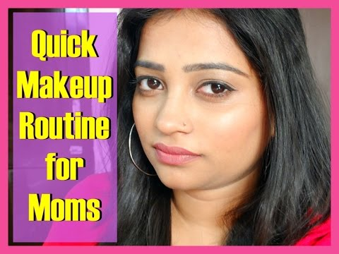 Quick Makeup Routine for Moms | Daily Wear Makeup for Moms | Indian Mom on Duty