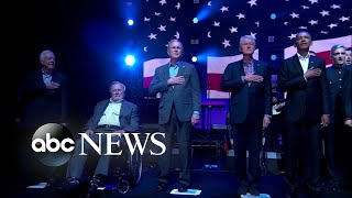 5 former presidents come together for concert for hurricane relief