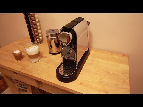 Nespresso Citiz & Milk. How to make Latte
