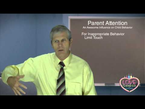 Parent Attention: An Awesome Influence on Child Behavior