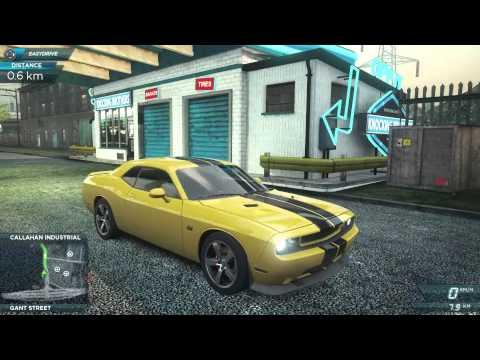 NFS: Most Wanted - Dodge Challenger SRT8 - Mad Engine Sounds!!
