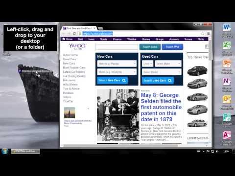 Fastest way to make a Google Chrome shortcut to your desktop!