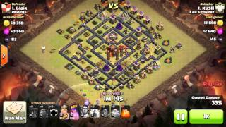 Clash Of Clans : The Last Lava Pup Saves A War Attack 1 Second Left