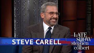 Steve Carell Was A Festive Mailman