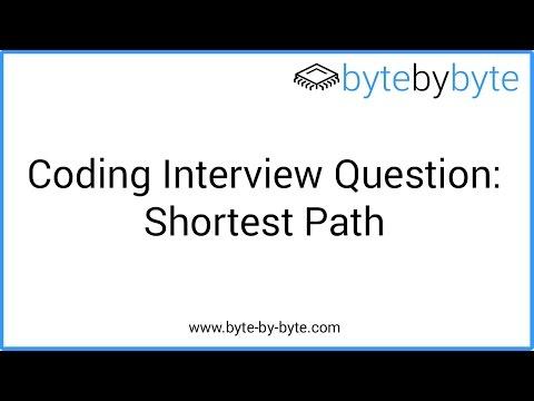 Interview Question: Shortest Path