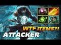 Attacker Kunkka WTF ITEM BUILD Dota 2 Pro Gameplay