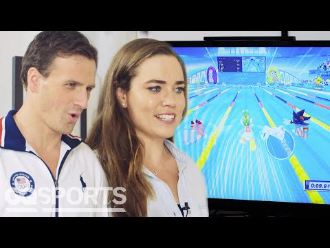 Ryan Lochte & Team USA Swimmers Play 'Mario & Sonic at The Olympic Games' | GQ