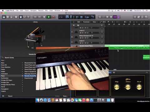 Logic Pro X making beats