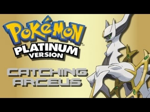 Pokemon Platinum: How to Catch Arceus (Using Action Replay)