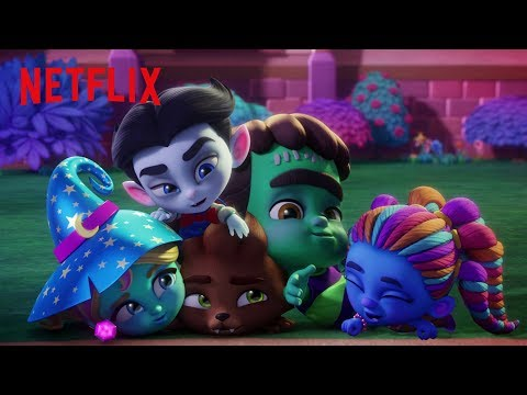 Super Monsters Play Monster May I? | Super Monsters | Netflix