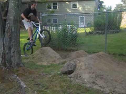 backyard dirt jumps