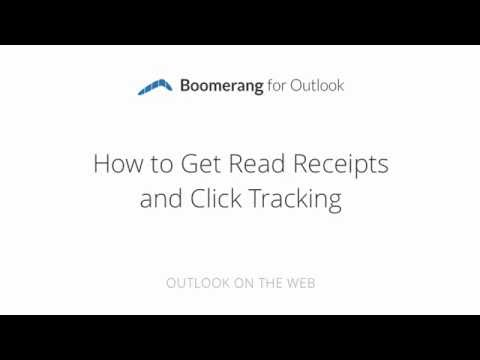 How To Get Outlook Read Receipts in Outlook with Boomerang