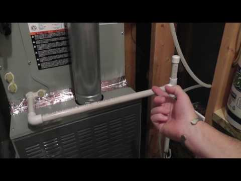 Best way to clean air conditioning condensation pump