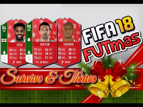 FIFA 18 FUTmas: Survive & Thrive: Day 10     Cash Out Your 83+ French Players!!!