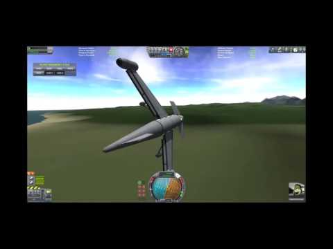 KSP Flight tutorial 1 - Your First Plane
