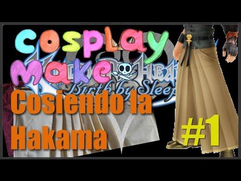 Cosplay make / Como coser la hakama de Terra de KH