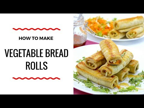 HOW TO MAKE CHICKEN VEGETABLE BREAD ROLLS - BREAKFAST RECIPE - ZEELICIOUS FOODS