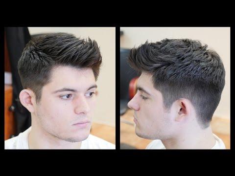 Men's Haircut Tutorial - Fohawk Haircut Fade - TheSalonGuy