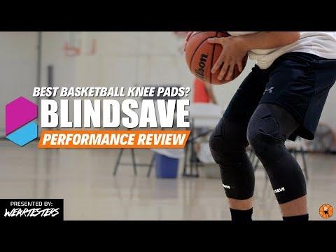BEST BASKETBALL KNEE PADS?   BlindSave vs. McDavid Performance Review