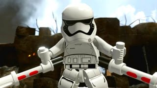 LEGO Star Wars: The Force Awakens Walkthrough Part 7 - Battle of Takodana