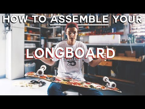 HOW TO ASSEMBLE YOUR LONGBOARD + First Tricks & Dance Test