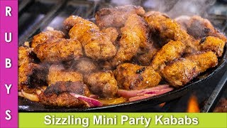 Sizzling Mini Gola Kababs Dawaton ya Parties ki Idea Recipe in Urdu Hindi - RKK