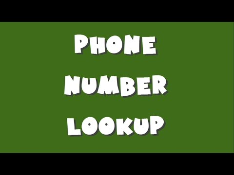 Phone Number Lookup Enter a phone number and get lookup