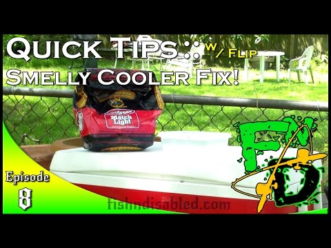 Quick Tip Cooler Smell Fix