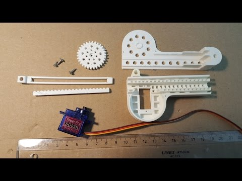 How to Make a Linear Servo DIY for less thant 10 Dollars
