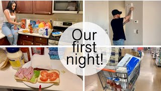 First night in our new house! (moving in vlog)